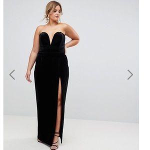 Dresses & Skirts - Formal Black Velvet Gown